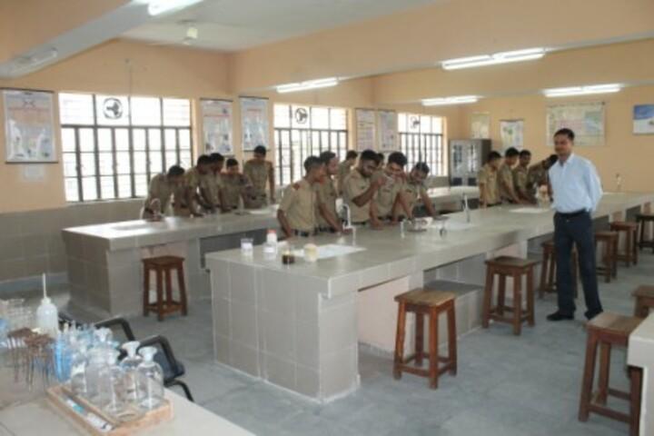 Sainik School-Chemistry Lab