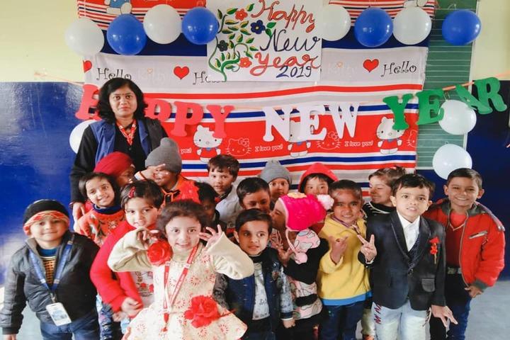 Ashoka Senior Secondary School-New Year Celebrations