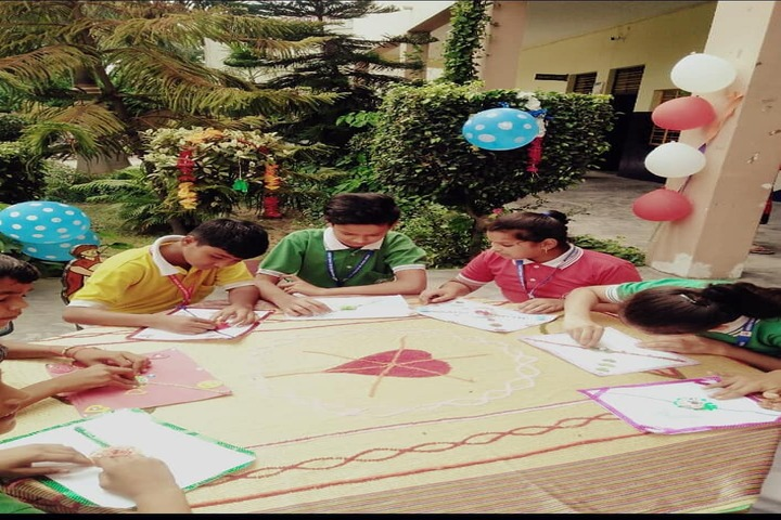 Ashoka Senior Secondary School-Rakhi Making