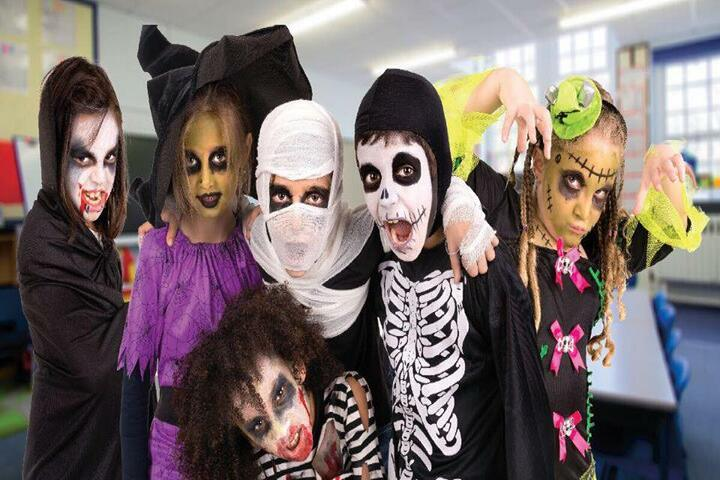Avadh Collegiate-Halloween Day Celabrations