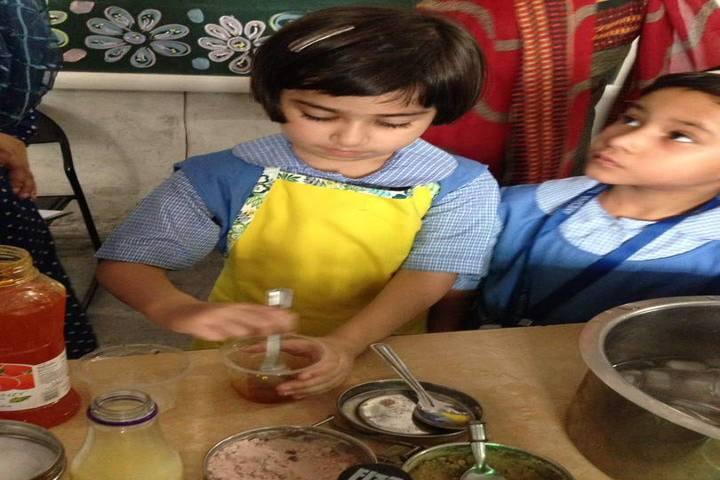 Ayesha Tarin Modern Public School-Cooking Activity
