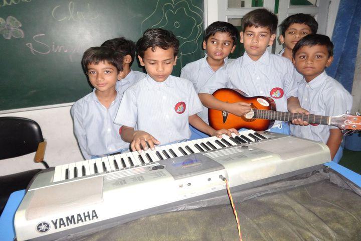 Ayesha Tarin Modern Public School-Music Room