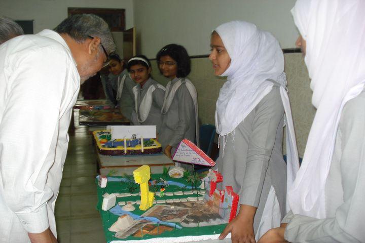 Ayesha Tarin Modern Public School-Science Exhibition