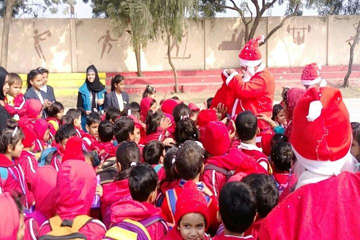 Ayesha Tarin Modern Public School-Christmas Celebration