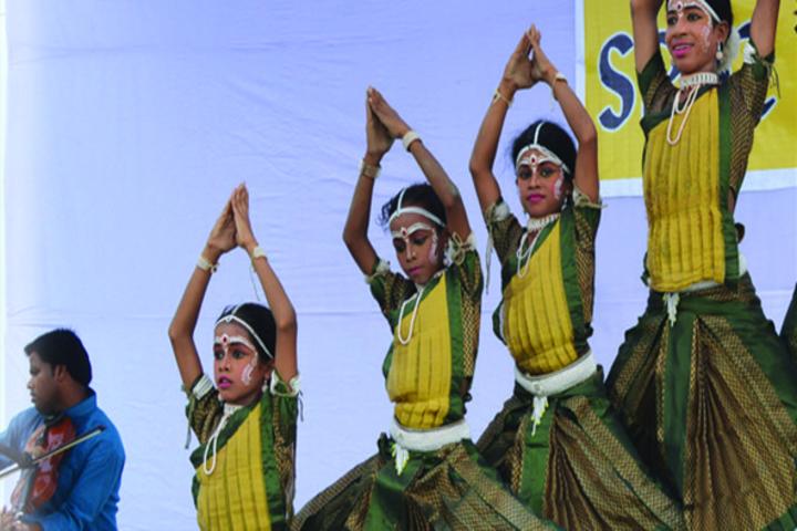 Sanghmitra Public School-Cultural Dance