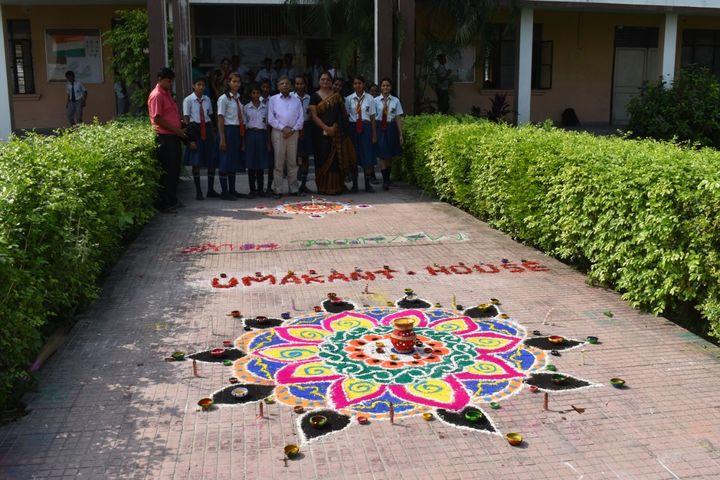 Sanghmitra Public School-Rangoli