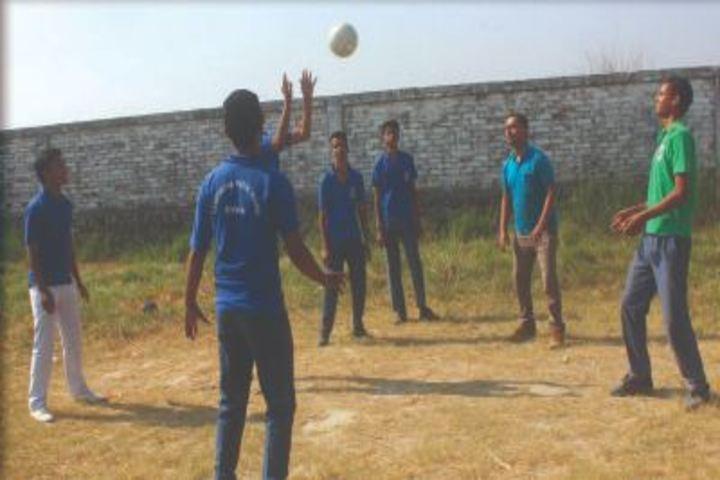 Sanghmitra Public School-Volly Ball