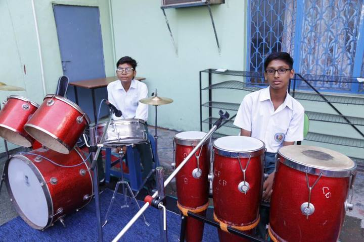 Azad Public School-Music Room