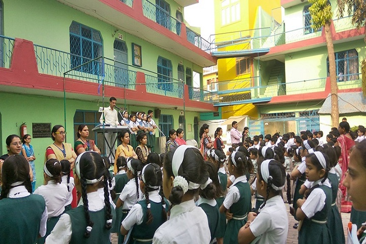 Azad Public School-Assembly