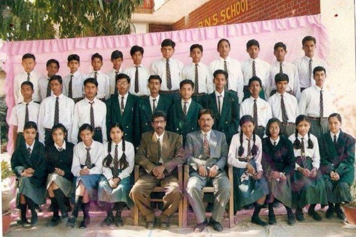 B N S English School-Group Photo