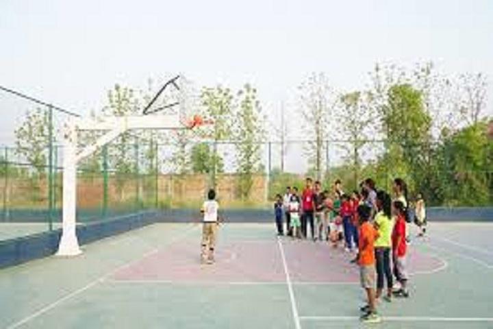 B R Memorial Junior High School-Basketball Court