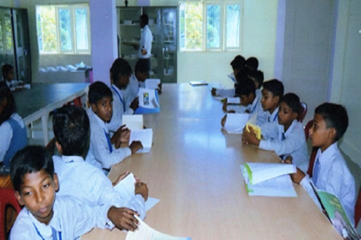 B Indian Senior Secondary Public School-Library