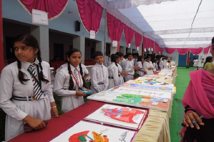 B  P  M  Gyan Jyoti School-Art Exhibition