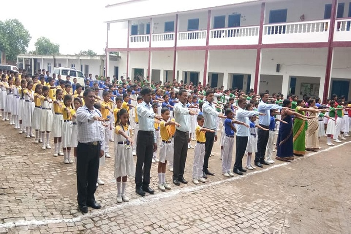 B P M GYAN JYOTI SCHOOL-Morning Assembly