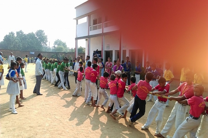 B P M GYAN JYOTI SCHOOL-Tug of War