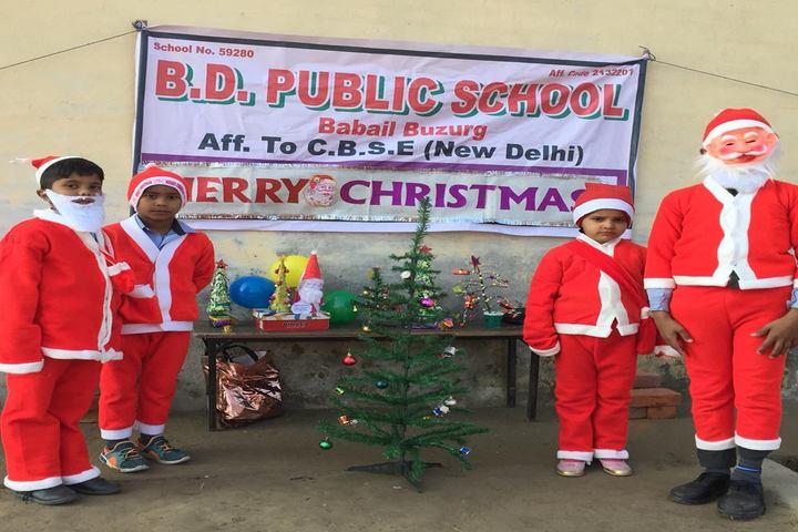 B D Public School-Christmas Celebrations
