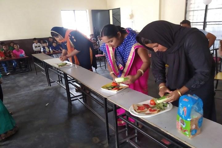 B D Public School-Cooking Activity