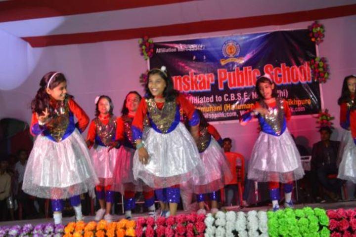 Sanskar Public School-Dance