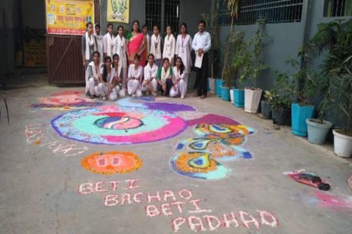 Sanskar Public School-Rangoli