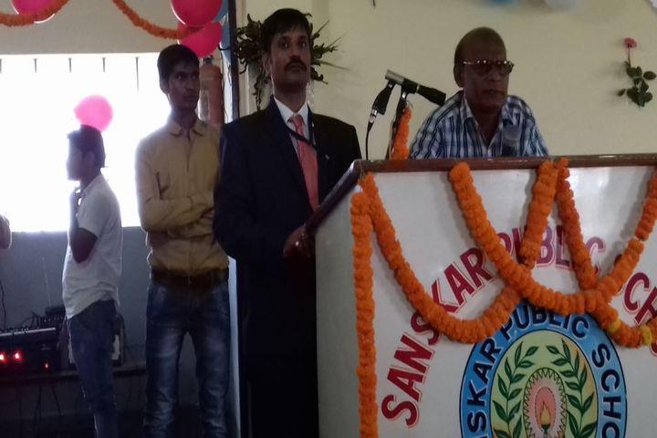 Sanskar Public School-Speech