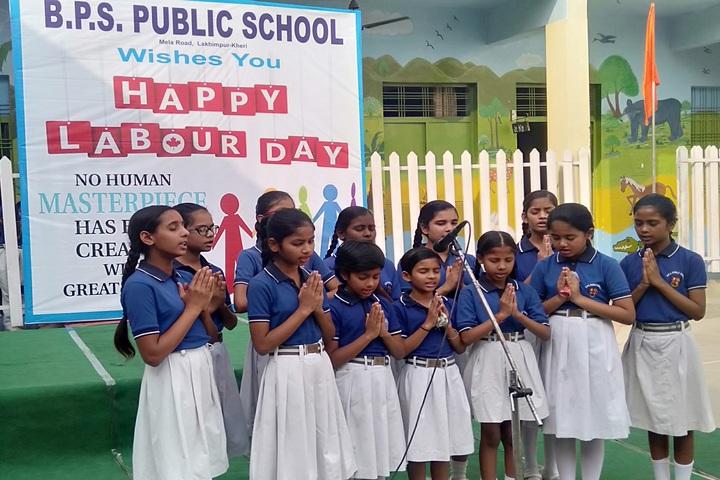 B P S Public School-Singing