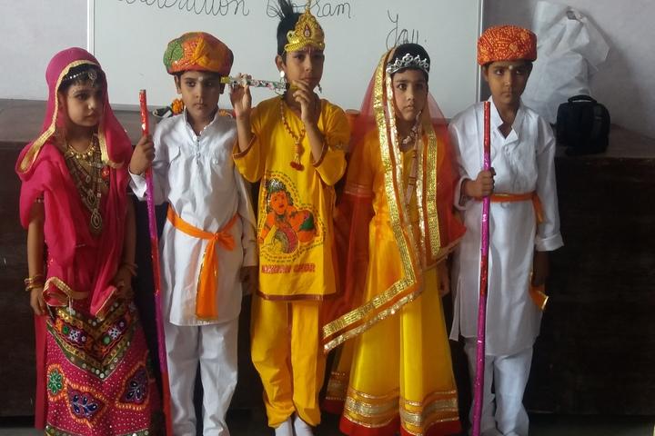 Baba Patiram Vidhya Mandir J.H. School-Krishnastami Celebration