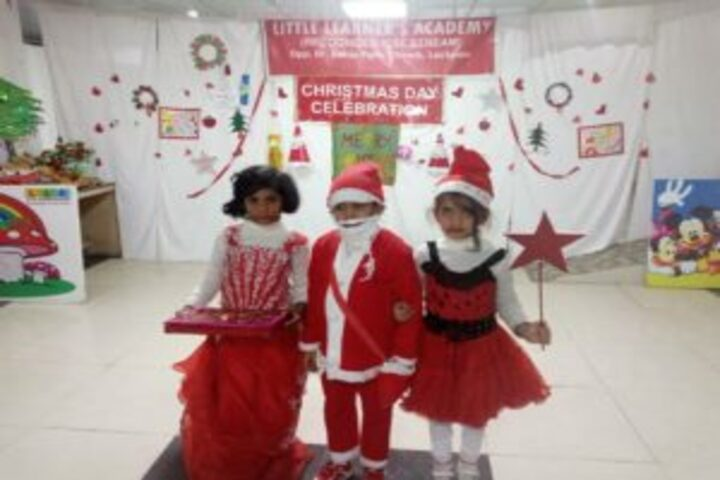 Baby Martin international school- christmas day celebrations