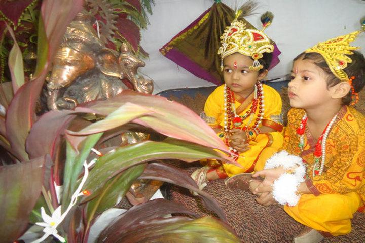 Bajaj Public School-Festival Celebration