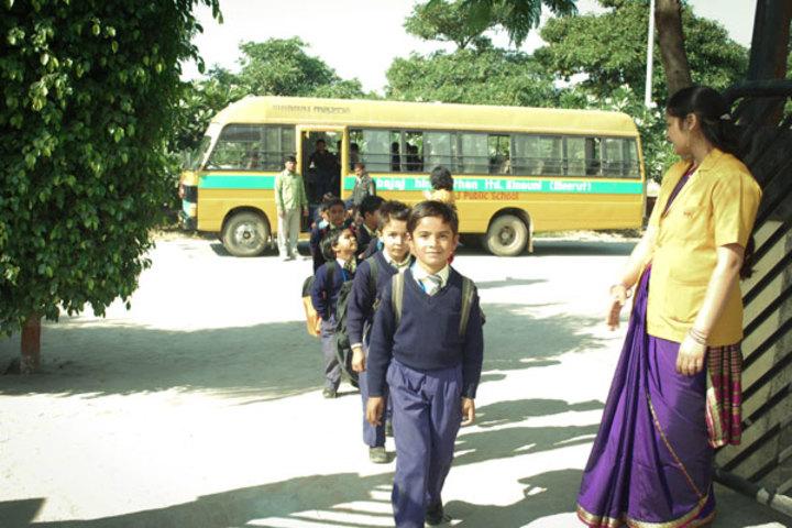 Bajaj Public School-Transport