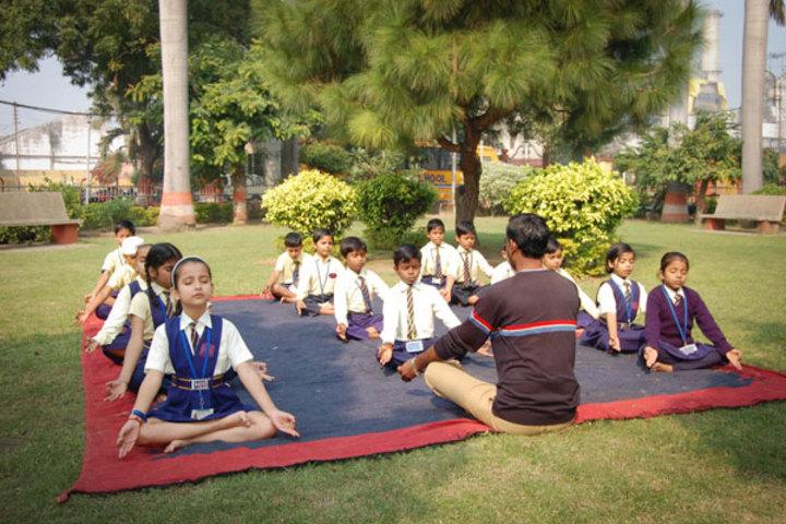 Bajaj Public School-Yoga