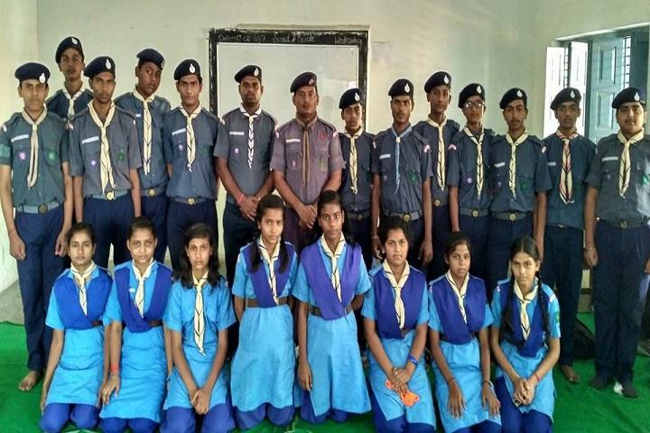 BAKSHI PUBLIC SCHOOL-Scouts and Guides
