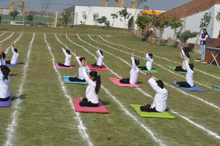 Bal Bharati Public School-Yoga Day