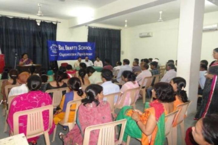 Bal Bharti School- Orientation