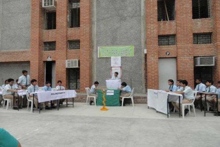 Bal Bharti School- Youth Parliament