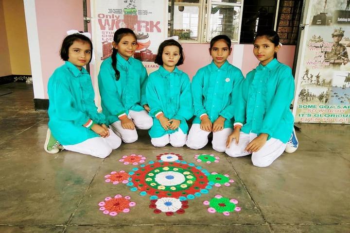Bal Bharti School-Rangoli Celebrations