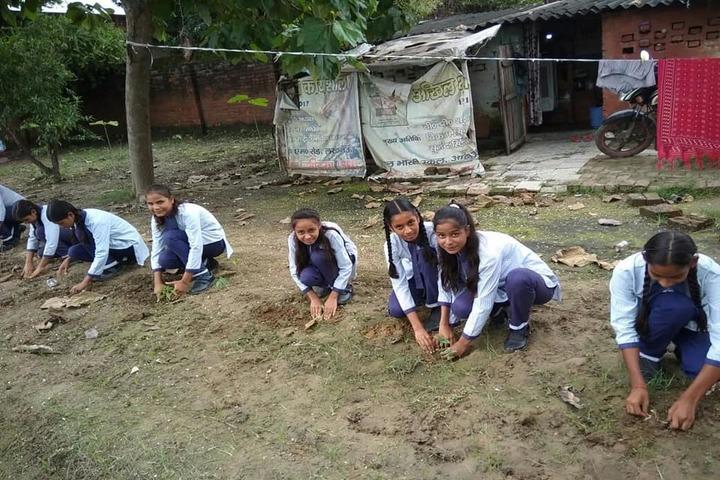 Bal Bharti School-Plantation Day