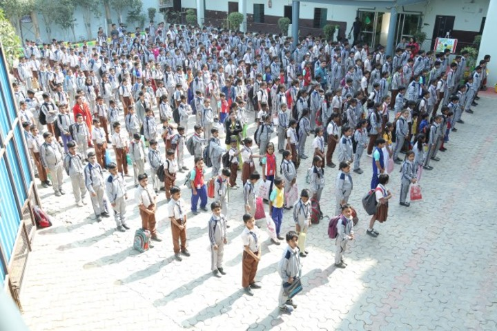 Bal Jagat Senior Secondary School-Assembly