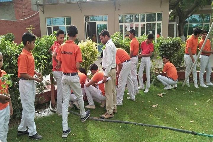Bal Jyoti Public School -Swatch Bharath