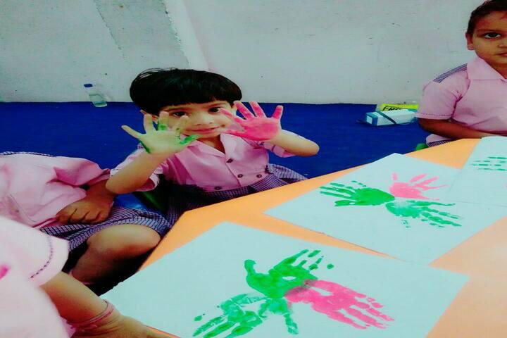 Bal Jyoti Public School- Hand Colours