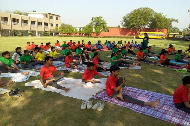 Bal Jyoti Public School- Yoga day celebrations