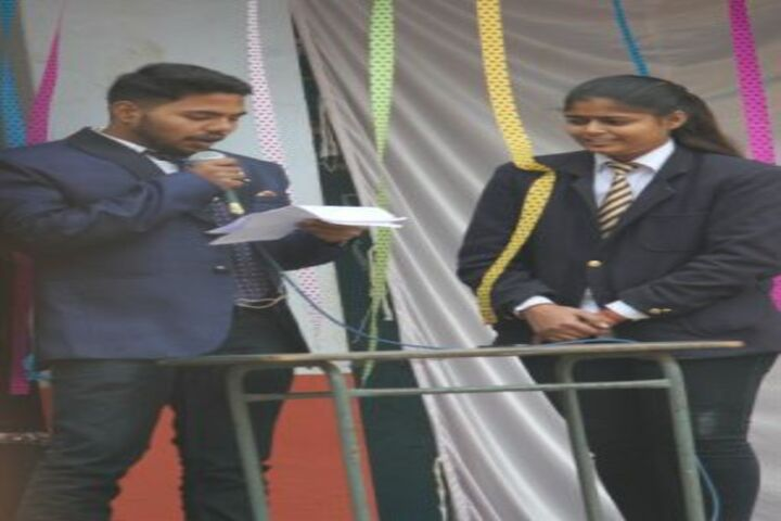 Bal Niketan Junior High School-Programme Host