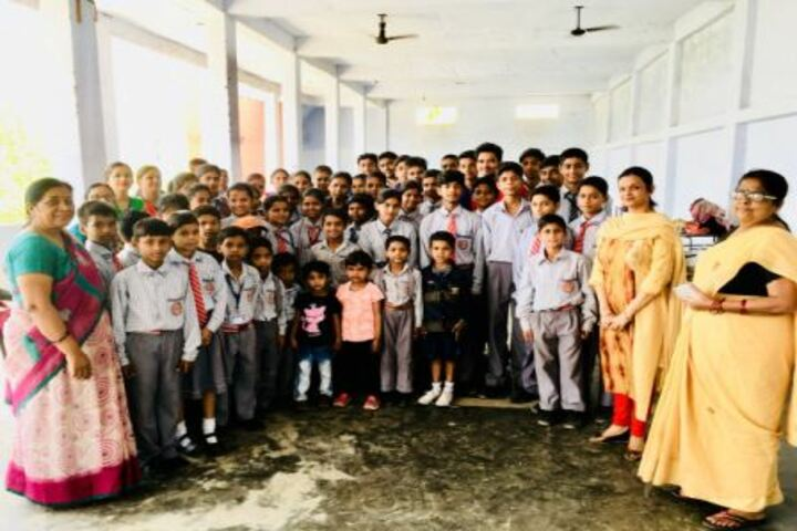 Bal Niketan Junior High School-Teachers and Students Group Pics