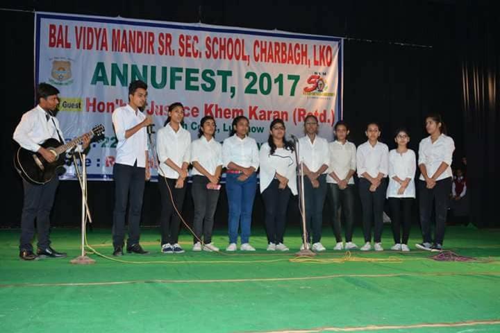 Bal Vidya Mandir Senior Secondary school-Annual Fest