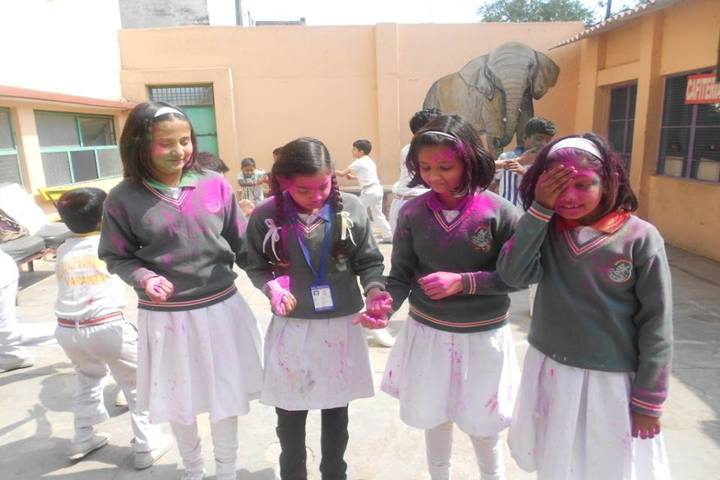 Bal Vidyalaya Madhyamik School- Holi Celebrations