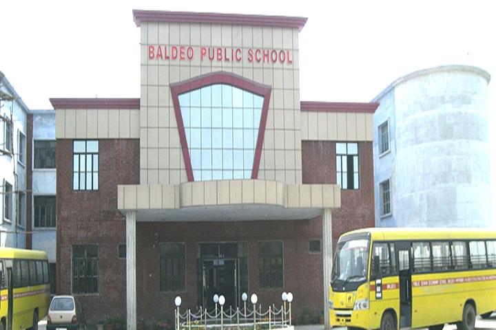 Baldeo Public School-School Building