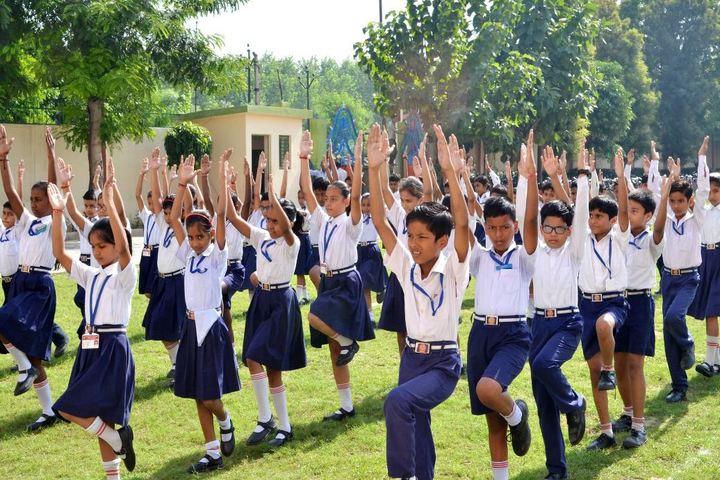 Baleram Brajbhushan Saraswati Shishu Mandir-Exercise