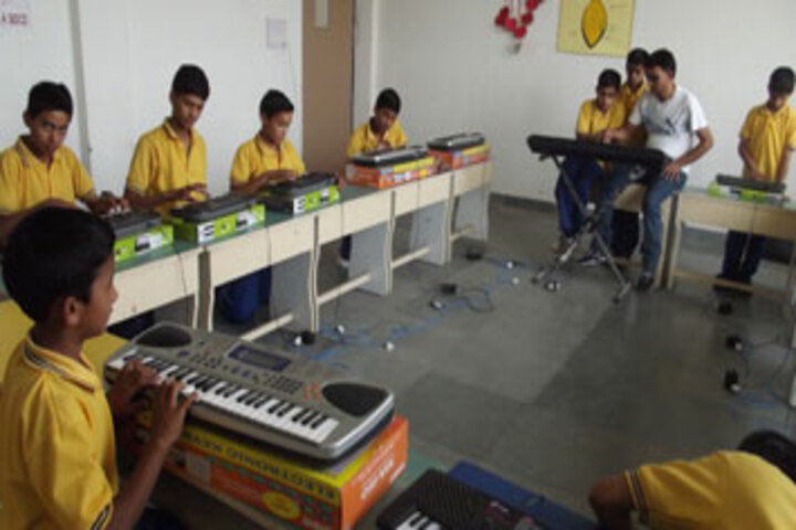 Baluni Public School-Music Room