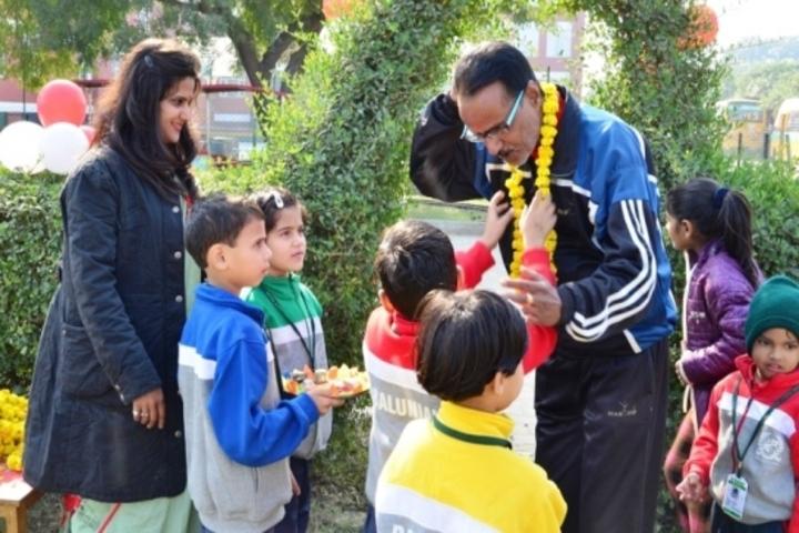 Baluni Public School-Grand Parents Day Celebrations