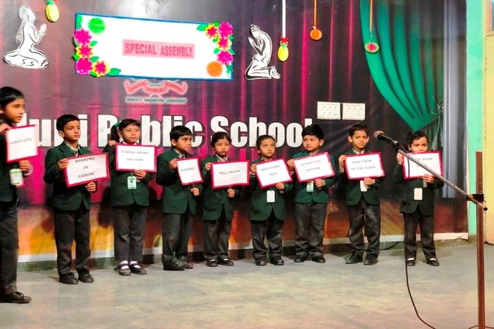 Baluni Public School-Special Assembly