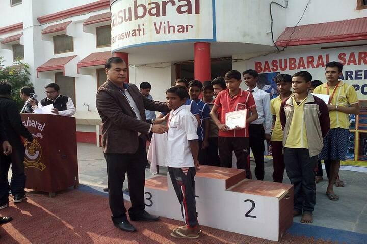 Basubaral Saraswati Vihar Senior Secondary School-Medal Distribution